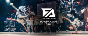Wereldkampioen Fresh Allstars Weert breakdance Dansschool Fresh