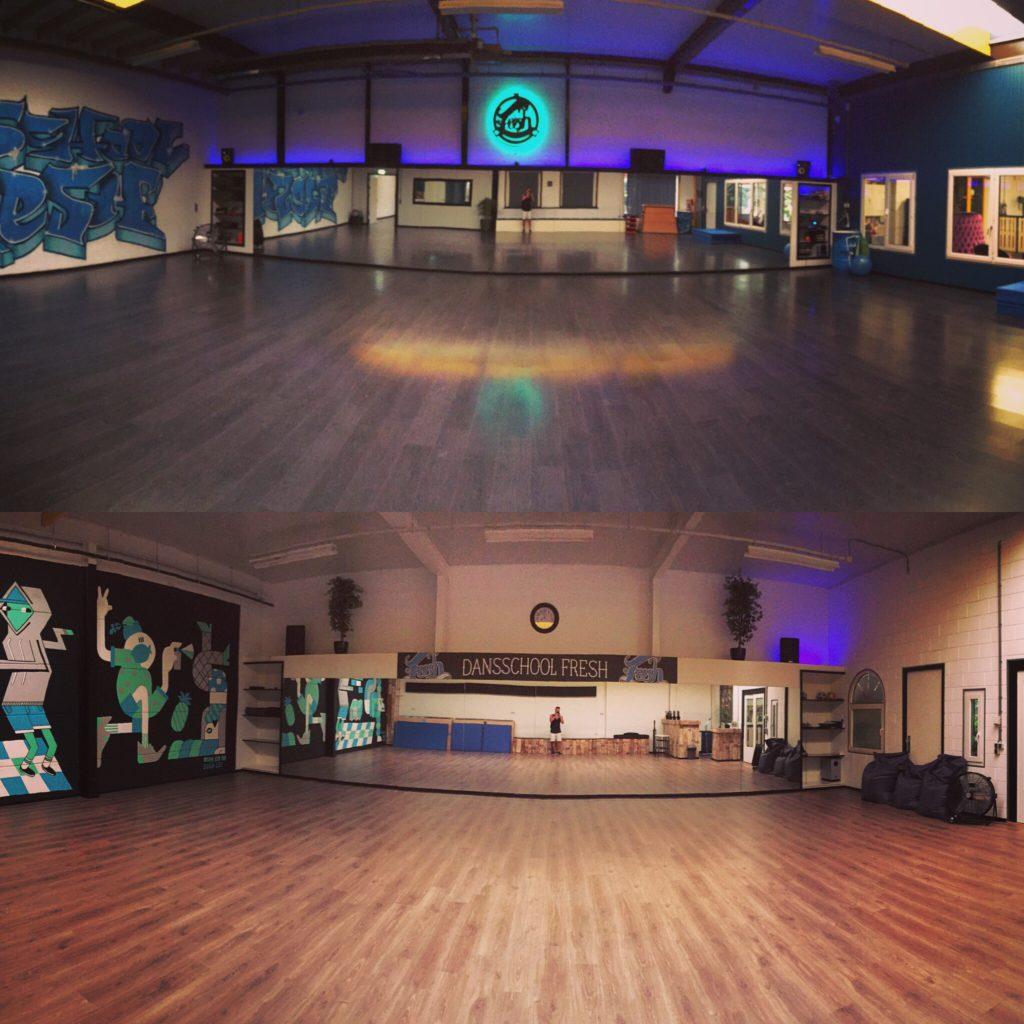 Dansschool Fresh studio 1 en 2 dansschool