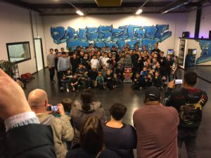 BCONE Allstars in Weert. Breakdance in Weert - Dansschool Fresh - Dansen