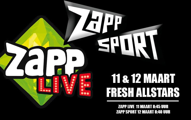 Dansschool Weert Fresh - Fresh Allstars bij Zapp Live en Zapp sport