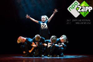 ZAPP LIVE - breakdance crew - kids - Zapp live en Willem Wever