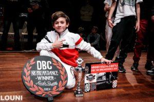 Lorenzo Nederlands Kampioen - DBC - Fresh Allstars Weert