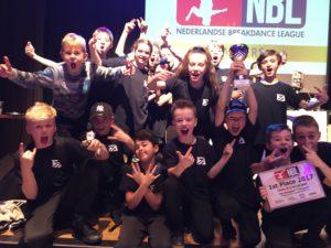 Fresh Allstars Kids wins NBL Nederlandse B-Boy League