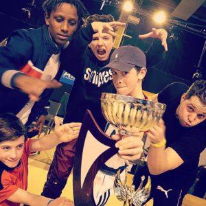 Breakdance Weert - Winst Frankrijk