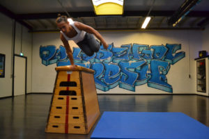 Freerunning bij Dansschool Fresh in weert Nederweert en Stramproy