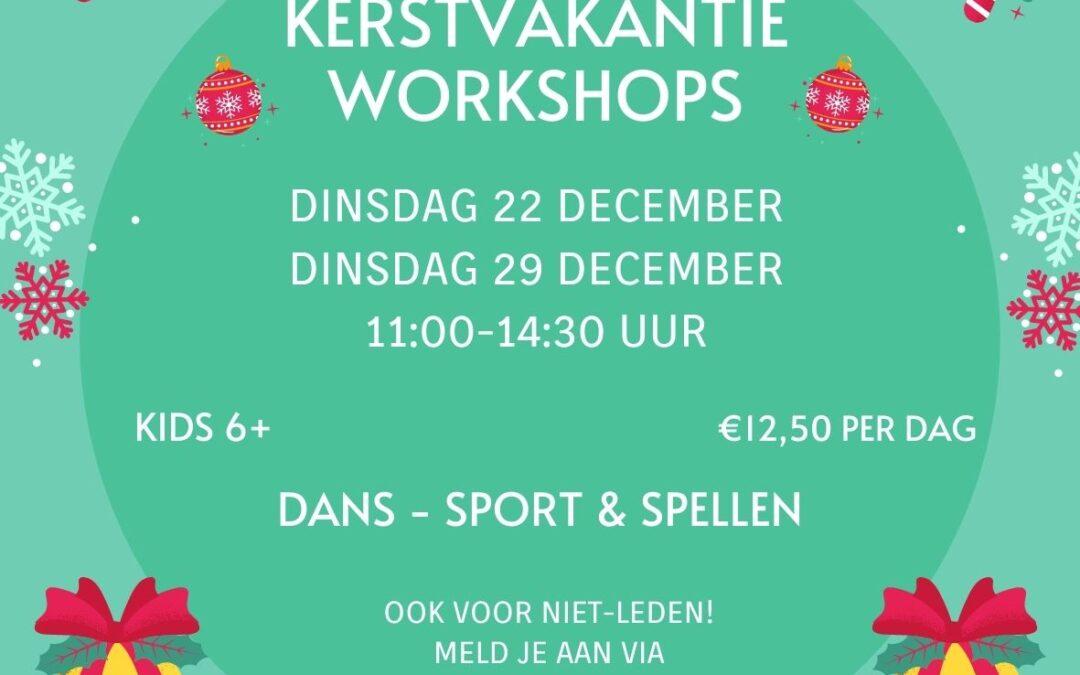 Kerstvakantie workshops 2020